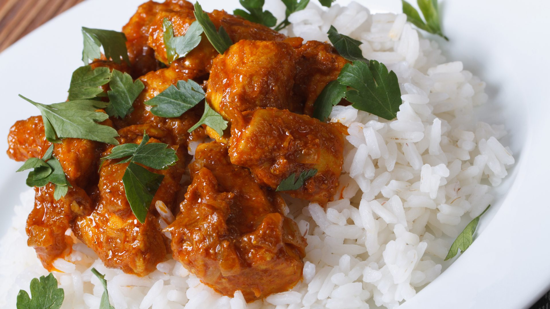 Chicken Curry with white rice