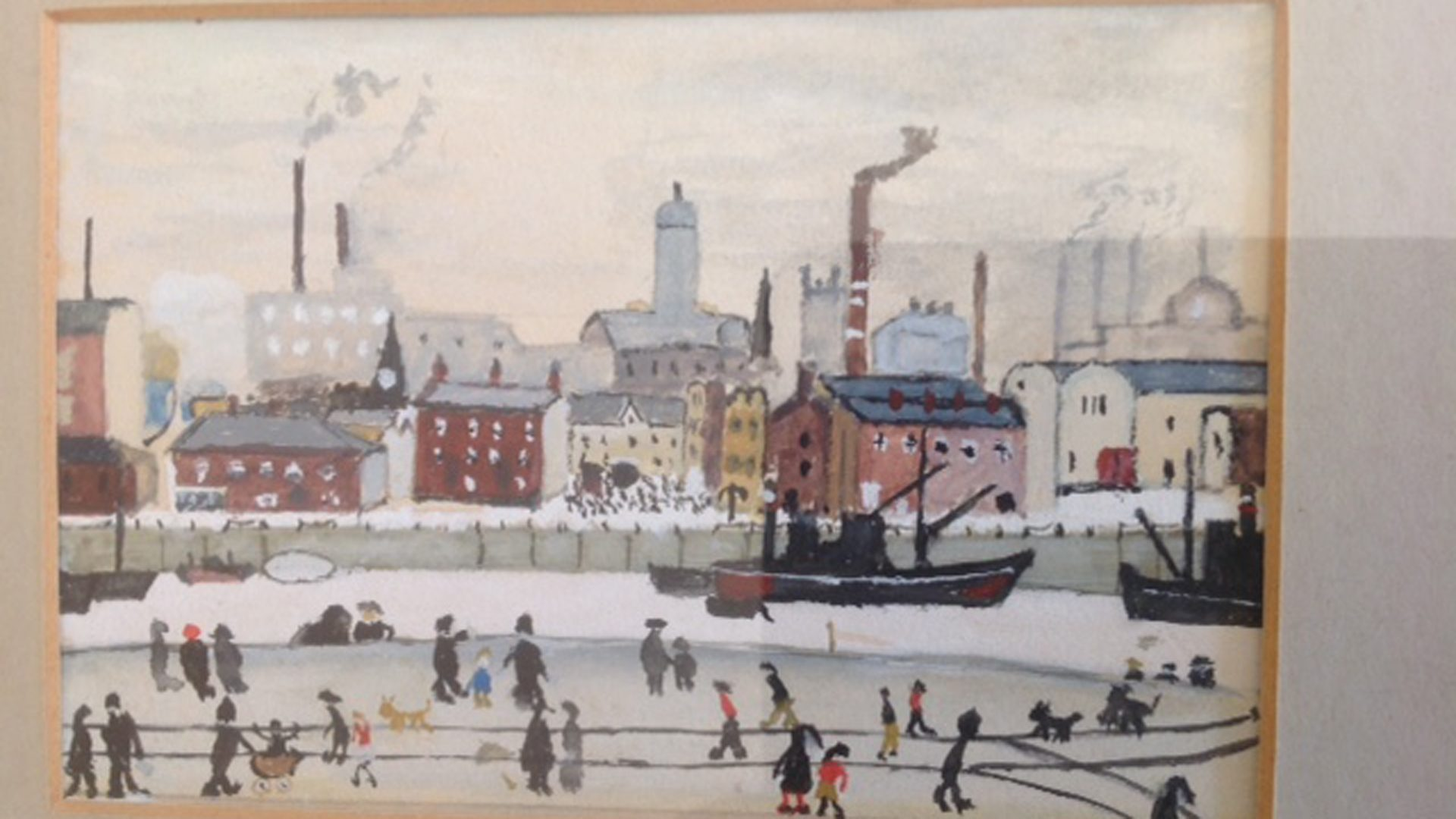 Lowry style painting