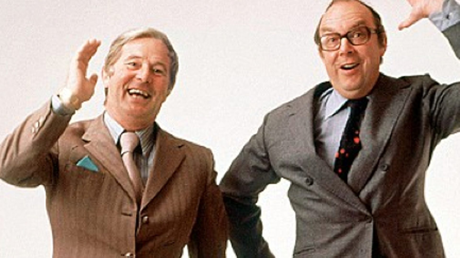Morecambe and Wise dancing