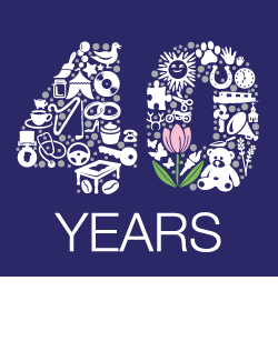 Dorothy House 40th logo